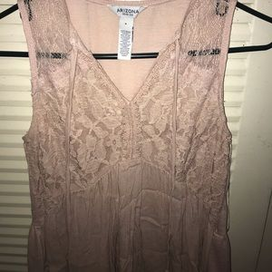 tank top cut blouse! never been worn